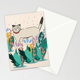 He loves Plants Stationery Cards