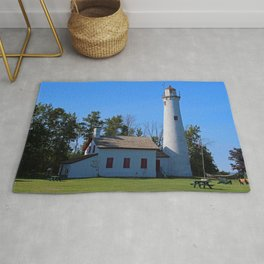 Sturgeon Lighthouse- horizontal Rug