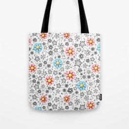 Millefiori Monotone Tote Bag
