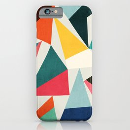 Collection of pointy summit iPhone Case