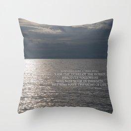 Light of the World Throw Pillow