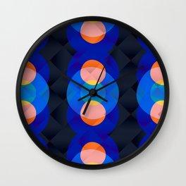 Moonlit Lights Wall Clock
