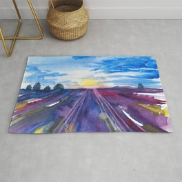 Lavender Fields Rug