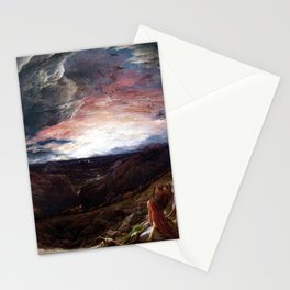 John Linnell Noah The Eve of the Deluge Stationery Cards