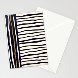 Zebra style animal print pattern Stationery Cards