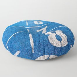 Athletics Floor Pillow
