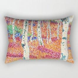 Alfred Ekstam (Sweden, 1878-1935)- autumn day 1914 Rectangular Pillow