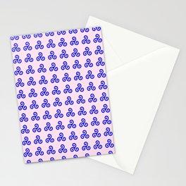 Triskele 4 -triskelion,triquètre,triscèle,spiral,celtic,Trisquelión,rotational Stationery Cards