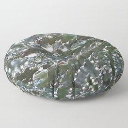 Dew Drops Floor Pillow