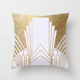 Art Deco design - blonde Deko-Kissen