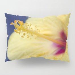 Kihei Hawaii Yellow Hibiscus Flowers Pillow Sham