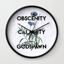 Godspawn Wall Clock