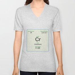 24 Chromium Unisex V-Neck