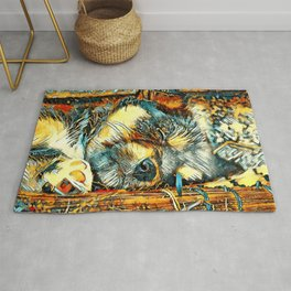 AnimalArt_Dog_20170906_by_JAMColorsSpecial Rug