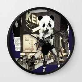 Panda Attack Wall Clock