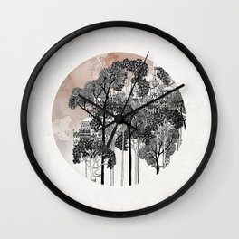 Crux - City in the Trees Wall Clock