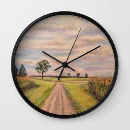 Sky High Wall Clock