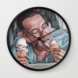 Forrest Gump eats Ice Cream Wall Clock
