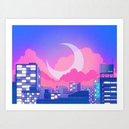 Dreamy Moon Nights Kunstdrucke