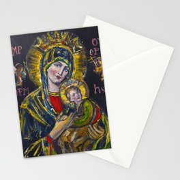Our Lady of Perpetual Help Stationery Cards