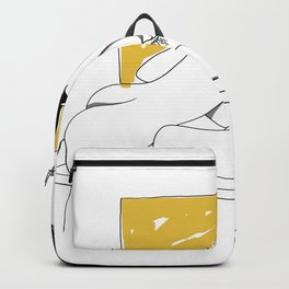 Leserotica OxyDHEA Yellow 01 Backpack