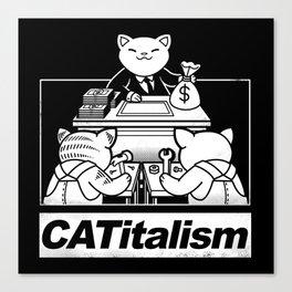 CaTitalism Canvas Print