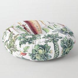 Adolphe Millot - Légumes pour tous - French vintage poster Floor Pillow