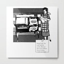 Sorry i cook Metal Print