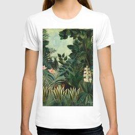 The Equatorial Jungle - Henri Rousseau T-shirt