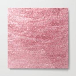 Beautiful Pink Glitter illustration  Metal Print