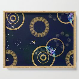 Celestial Bees Serving Tray