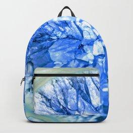 Blue Crystalline Backpack