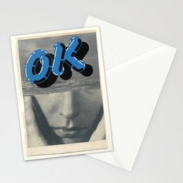 It is ok to be ok Stationery Cards
