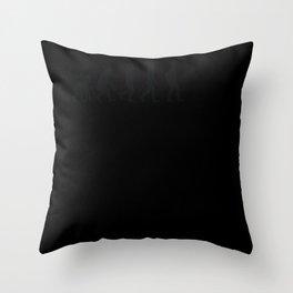 Evolution Artisan Throw Pillow