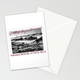 Greetings from Normandy - Omaha Beach Stationery Cards