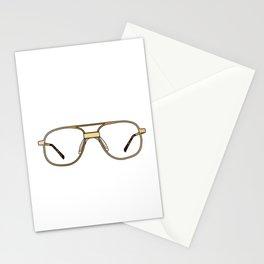 "Funny Optometry Graduation Gift. ""I've Been Framed"" Glasses design Stationery Cards"
