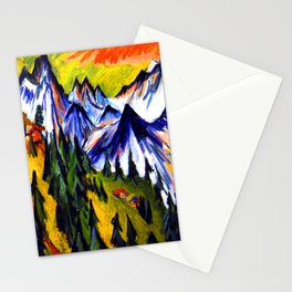 Ernst Ludwig Kirchner Mountain Top Stationery Cards