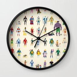 Pixel Nostalgia Wall Clock