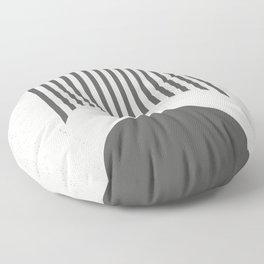 Mid Century Modern Geometry 02 Floor Pillow