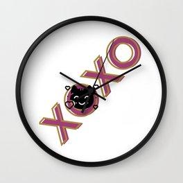 XOXO-Kitty Wall Clock