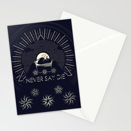 Never Say Die Stationery Cards