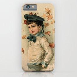 American Boy Maud Humphrey 1891 iPhone Case