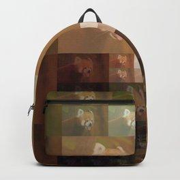 Red panda-pixel fun Backpack