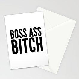 BOSS ASS BITCH Stationery Cards