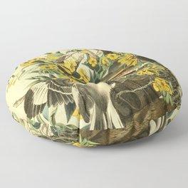 Northern mockingbird Floor Pillow
