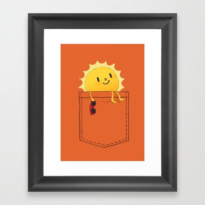 Pocketful of sunshine Gerahmter Kunstdruck