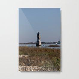 Cockspur Lighthouse Metal Print