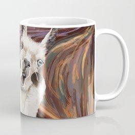 Llama The Scream Coffee Mug
