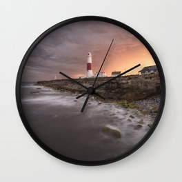 Storm Light Wall Clock