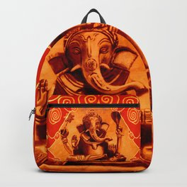 GANESHA - orange Backpack